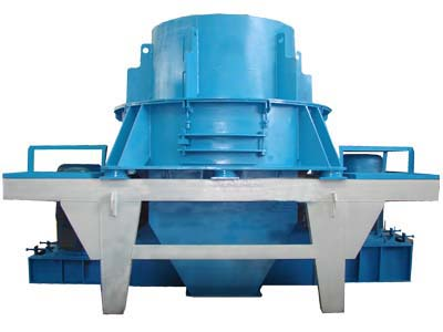 Sand Making Machine(Vertical shaft impact crusher)
